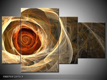 Abstraktní obraz růže (F000793F12075C4)