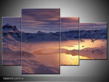 Krásný obraz zimní krajiny (F000939F12075C4)