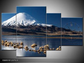 Obraz zasněžené hory (F000974F12075C4)