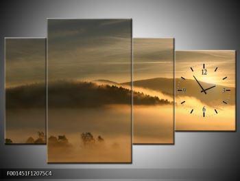 Obraz hor v mlze (F001451F12075C4)