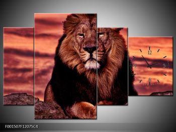 Obraz krále zvířat (F001507F12075C4)