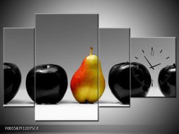 Obraz dvou jablek a hrušky (F001587F12075C4)