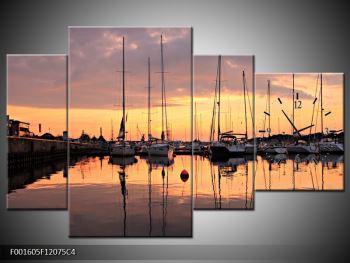 Obraz přístavu (F001605F12075C4)