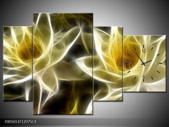 Abstraktní obraz - květiny (F001651F12075C4)