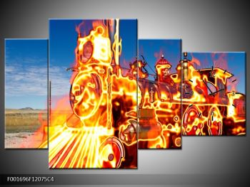 Obraz ohnivé lokomotivy (F001696F12075C4)