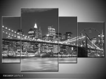 Moderní obraz - New York (F001800F12075C4)