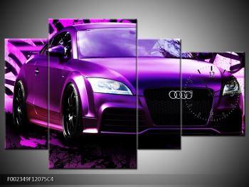 Obraz fialové Audi (F002349F12075C4)