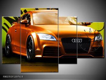Obraz oranžové Audi (F002351F12075C4)