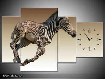 Obraz běžící zebry (F002416F12075C4)
