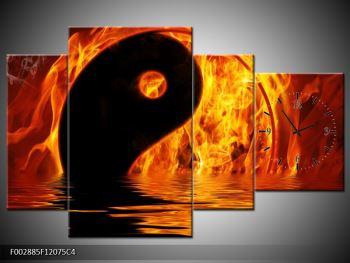 Obraz hořícího Jin Jangu  (F002885F12075C4)