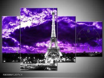 Obraz Eiffelovy věže v Paříži (F003006F12075C4)