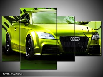 Obraz zelené Audi  (F003676F12075C4)