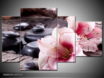 Obraz narůžovělých orchidejí (F004059F12075C4)