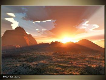 Obraz západu slunce (F000462F12080)
