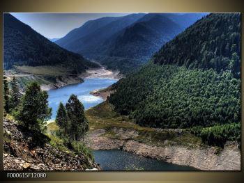 Obraz řeky a hor (F000615F12080)