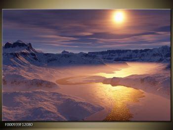 Krásný obraz zimní krajiny (F000939F12080)
