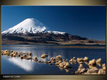Obraz zasněžené hory (F000974F12080)