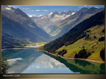 Obraz horského údolí (F001494F12080)