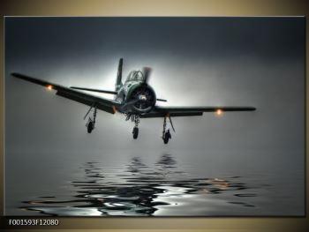 Obraz letadla  (F001593F12080)