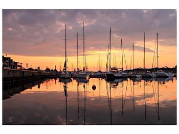 Obraz přístavu (F001605F12080)