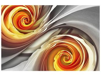 Abstraktní obraz - spirál (F001693F12080)