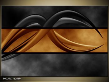 Dvoubarevný obraz chapadel (F002027F12080)