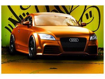 Obraz oranžové Audi (F002351F12080)