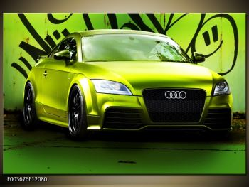 Obraz zelené Audi  (F003676F12080)