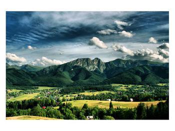 Obraz horské krajiny (K010215K12080)