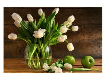 Obraz tulipánů ve váze (K011364K12080)