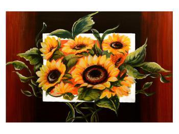 Tablou cu floarea soarelui (K011496K12080)