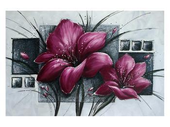 Tablou modern cu flori (K012355K12080)