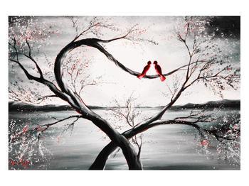 Zamilovaný obraz ptáků (K012527K12080)