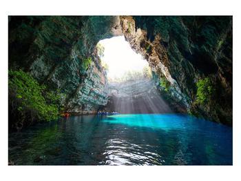 Obraz jeskyně s vodní plochou (K012667K12080)