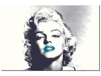 Obraz Marilyn Monroe s modrými rty (K014373K12080)