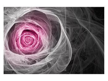 Abstraktní obraz růže (K014952K12080)