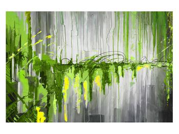 Abstraktní obraz - malba (K014961K12080)