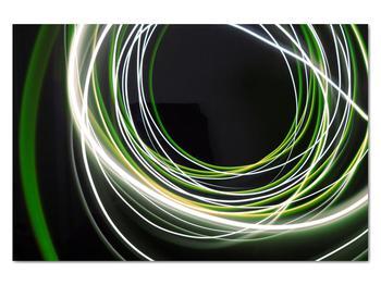Obraz zelených čiar (V020054V12080)