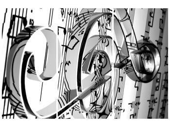 Moderní obraz houslového klíče (F000206F120803PCS)