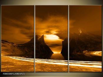 Obraz skály a pláže (F000300F120803PCS)