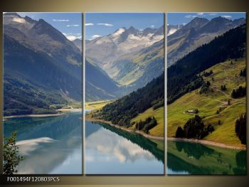Obraz horského údolí (F001494F120803PCS)
