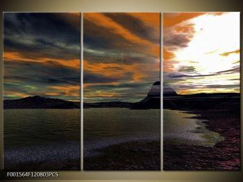 Obraz moře v temné obloze (F001564F120803PCS)