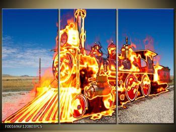 Obraz ohnivé lokomotivy (F001696F120803PCS)