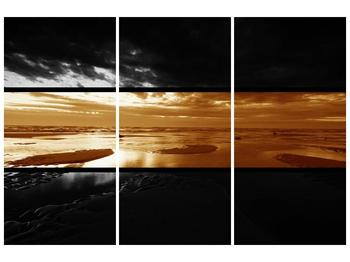 Dvroubarevný obraz moře (F001957F120803PCS)