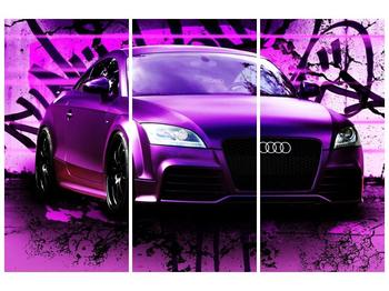 Obraz fialové Audi (F002349F120803PCS)