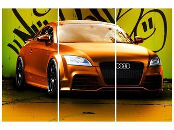 Obraz oranžové Audi (F002351F120803PCS)
