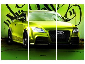 Obraz zelené Audi  (F003676F120803PCS)