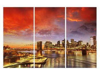 Tablou cu podul Brooklyn (K011278K120803PCS)