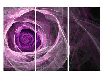 Moderný obraz fialovej ruže (K011482K120803PCS)