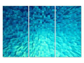 Obraz - abstraktní kostky (V020021V120803PCS)